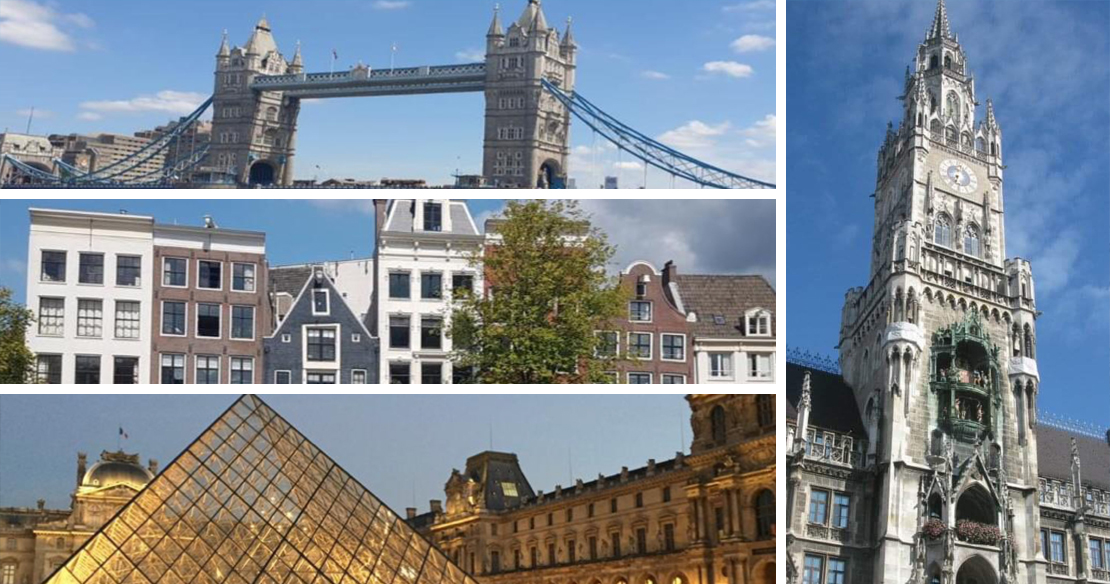 Landmarks and Historic sites in EMEA.