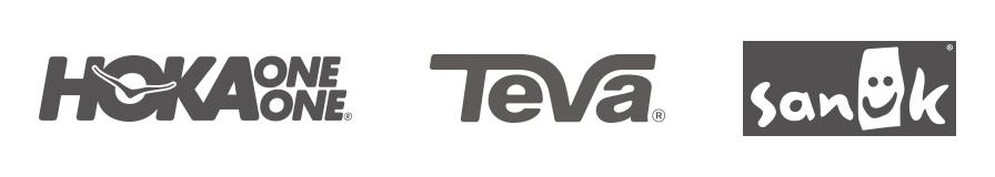 Hoka One Teva And Sanuk Logos Link To Performance Lifestyle Brands